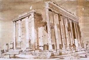 Palmyre - le temple de Bel