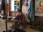fabrication d'objets en crin de cheval et laque