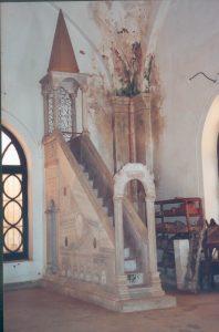 cette ancienne mosquée qui succède à une église byzantine est transformé en musée