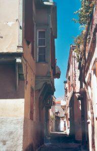 dans les petites rues de Chios