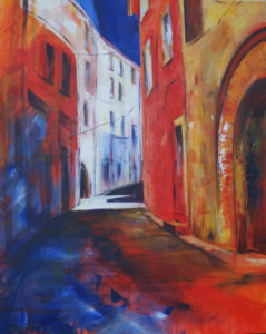 Départ (Saint Saturnin en Roussillon)
